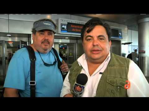 Mensaje de Carlucho antes de partir a Costa Rica a encontrarse con los cubanos varados
