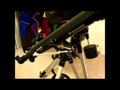 Celestron Powerseeker 70AZ Telescope Review. Pt.1