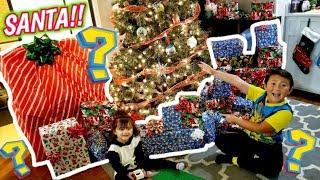 SANTA CAME EARLY! HOW TO MAKE CHRISTMAS COME EARLY!? HUGE SUPRISE CHRISTMAS TOY HAUL OPENING!