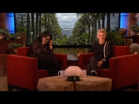 Ellen Scares Octavia Spencer -- Twice!