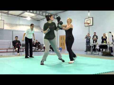 Clare and Claire's very first Savate fight Image 1
