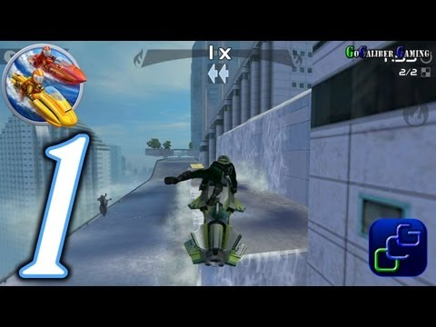 Riptide GP 2 Android Walkthrough - Gameplay Part 1 - Career Series: Beginner's Luck