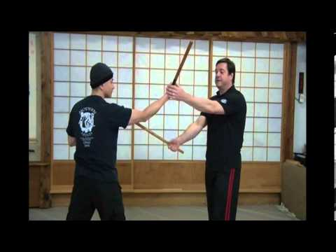 United Modern Arnis connecting empty hand to weapons movements