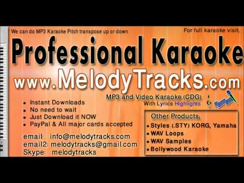 Aye Mere Bête   Kishore Karaoke  Www.melodytracks video