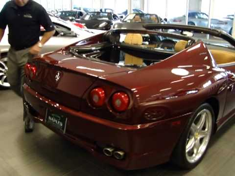 Ferrari SuperAmerica 2005 Video tour from Naples Motorsports FOR SALE Video