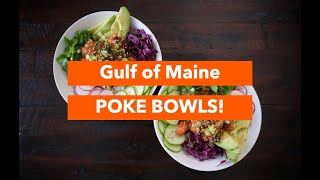 Gulf of Maine Poke Bowl with Atlantic Salmon & Fresh Kelp