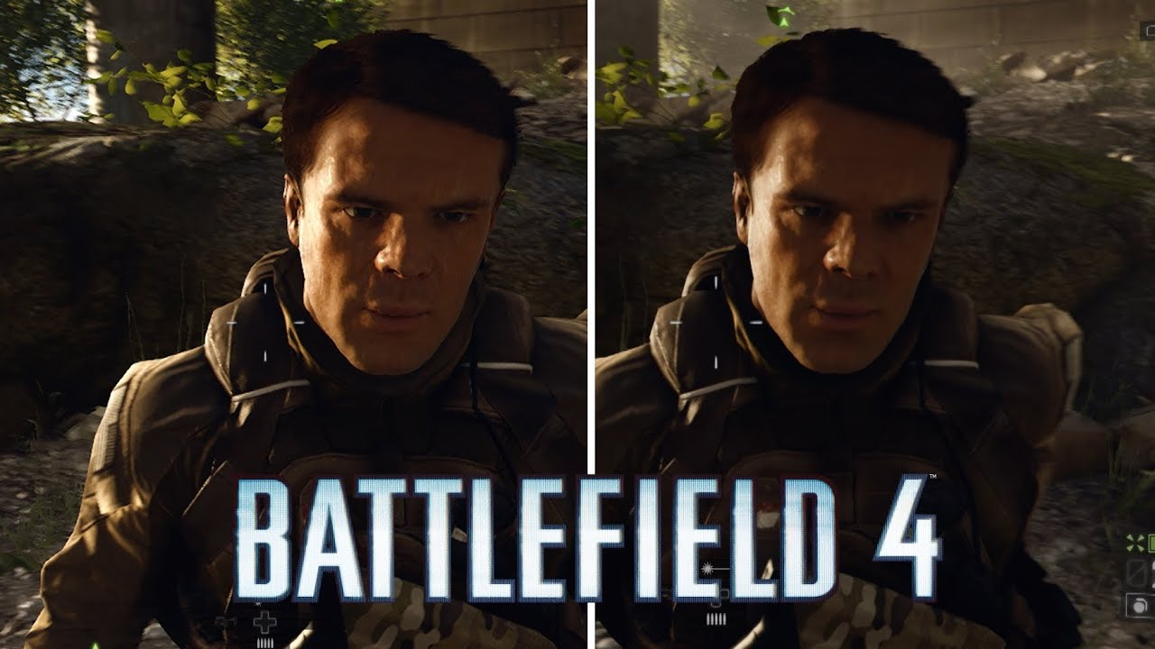 Xbox One Vs Xbox 360 Graphics Side By Side Battlefield 4: Xbox On...