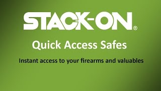 Stack-On Quick Access Safes