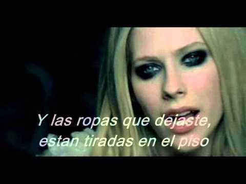 Avril Lavigne- When You're Gone (traducida En Español) video