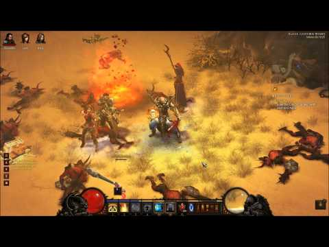 Diablo 3 Monk build for MP 10 (Crowd Control-New) - Patch 1.0.7
