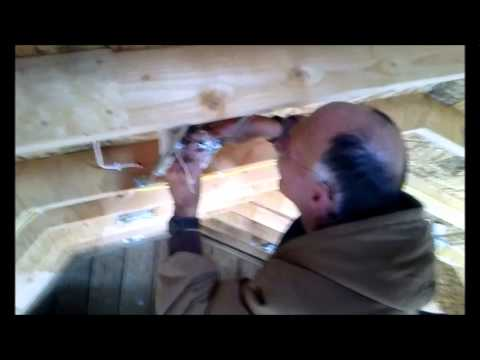 Chinle High School Adv. Const. tech class part 1