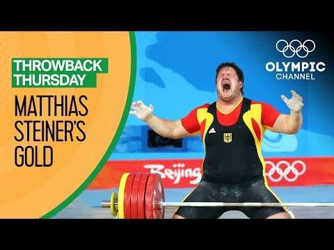 Matthias Steiner Shares his Emotional Beijing 2008 Weightlifting Gold   Moments In Time