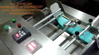 high speed paging machine for separating stacks of sticker paper or magazine