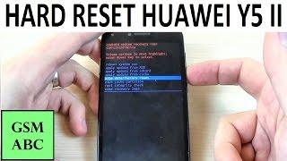 HARD RESET HUAWEI Y5 II | How to | Restore