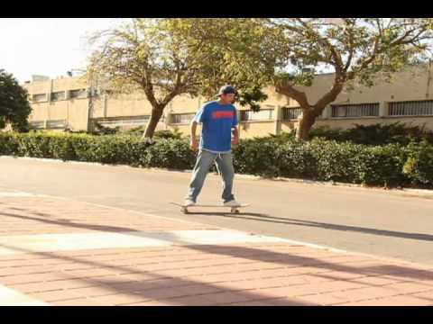 Long Boarding REAL STREET part - Yoni Ettinger - EarthWing