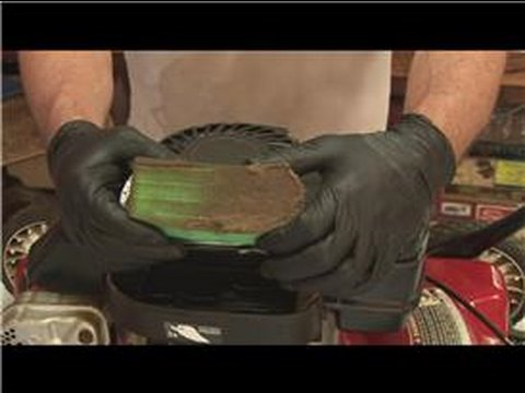 Lawn Mower Repair How To Clean A Lawn Mower Air Filter