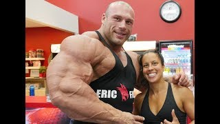 Real Life Giant Morgan Aste | Biggest Bodybuilder Ever Trains In USA