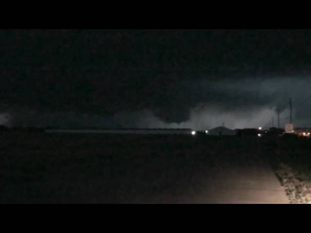 Wall Cloud West of Abilene, KS