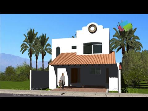 Planos de Casas Mexicanas | Fachadas