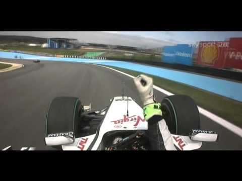 Jenson Button Onboard Champion Lap at Brazil 2009