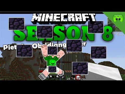 PIET DER OBSIDIANGÖNNER «» Minecraft Season 8 # 126 HD