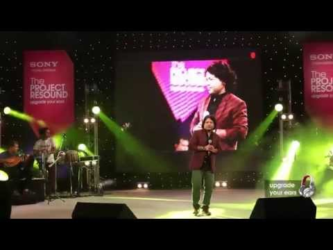 Shreya Ghoshal And Kailash Kher Live  Sony Project Resound Web Concert video