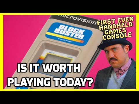 MB Microvision - Is It Worth Playing? -  History, Review and Retrospective! - Top Hat Gaming Man