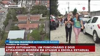 Suzano: Testemunha relata como vítimas conseguiram fugir