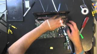 ACER ZG5 take apart video, disassemble, how to open
