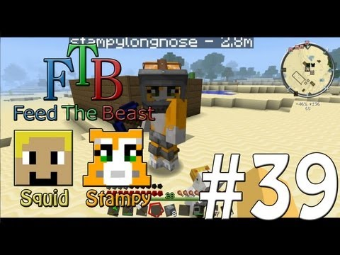 Feed The Beast #39 - Chicken Killer!! - W/Stampylongnose