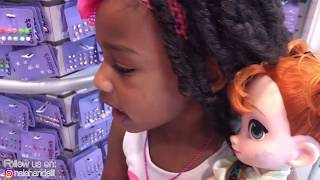 Fidget Spinner game Toy Hunt I Princess and Anna Toddlers Lost In The Mall