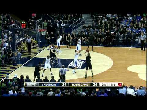 Irish Handle #8 Kentucky – Notre Dame Men's Basketball