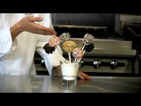 Cheesecake Pops from US Foods and Callebaut Chocolate