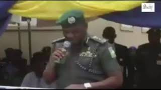 The Real IGP Idris Speech In Kano - Others are doctored. - Inside Naija
