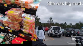 Come hang with me at Walmart || She was mad y'all