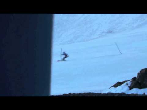 Ted Ligety training in Portillo 2012