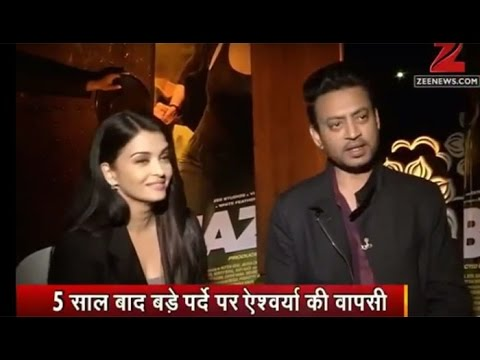 Exclusive: Chat with 'Jazbaa' stars Aishwarya Rai and Irrfan Khan!