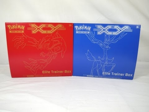 Unboxing: Pokémon TCG - XY Elite Trainer Box