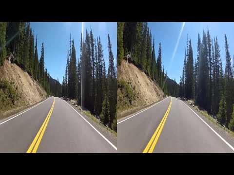 Rocky Mountain National Park - Trail Ridge Road (3D)