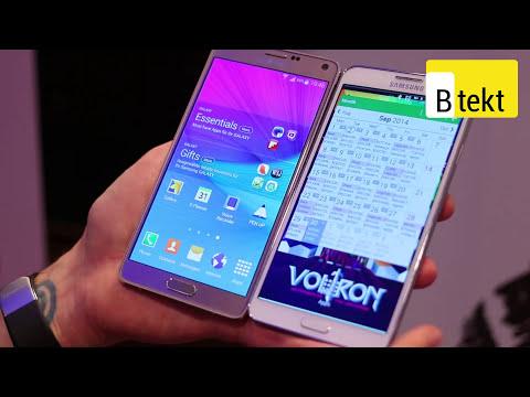 Samsung Galaxy Note 3 vs Note 4 - IFA 2014
