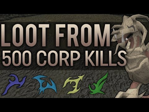 Loot From 500 Corporeal Beast Kills - Loot Series Episode 2 - RuneScape 3