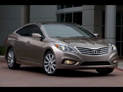 2013 Hyundai Azera Start Up and Review 3.3 L V6