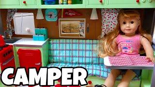 NEW American Girl Doll Camper - MaryEllen's Airstream