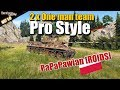"PaPaPawian [ROIDS], 2 x""One Man Team"" - Pro game style, WOT"