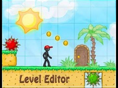Iori en 8bits Jugando ( Level Editor 2 )