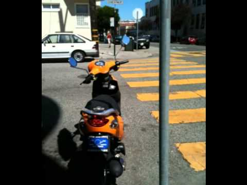 Scooters Around San Francisco Neighborhoods with Carole Isaacs Realtor McGuire Real Estate