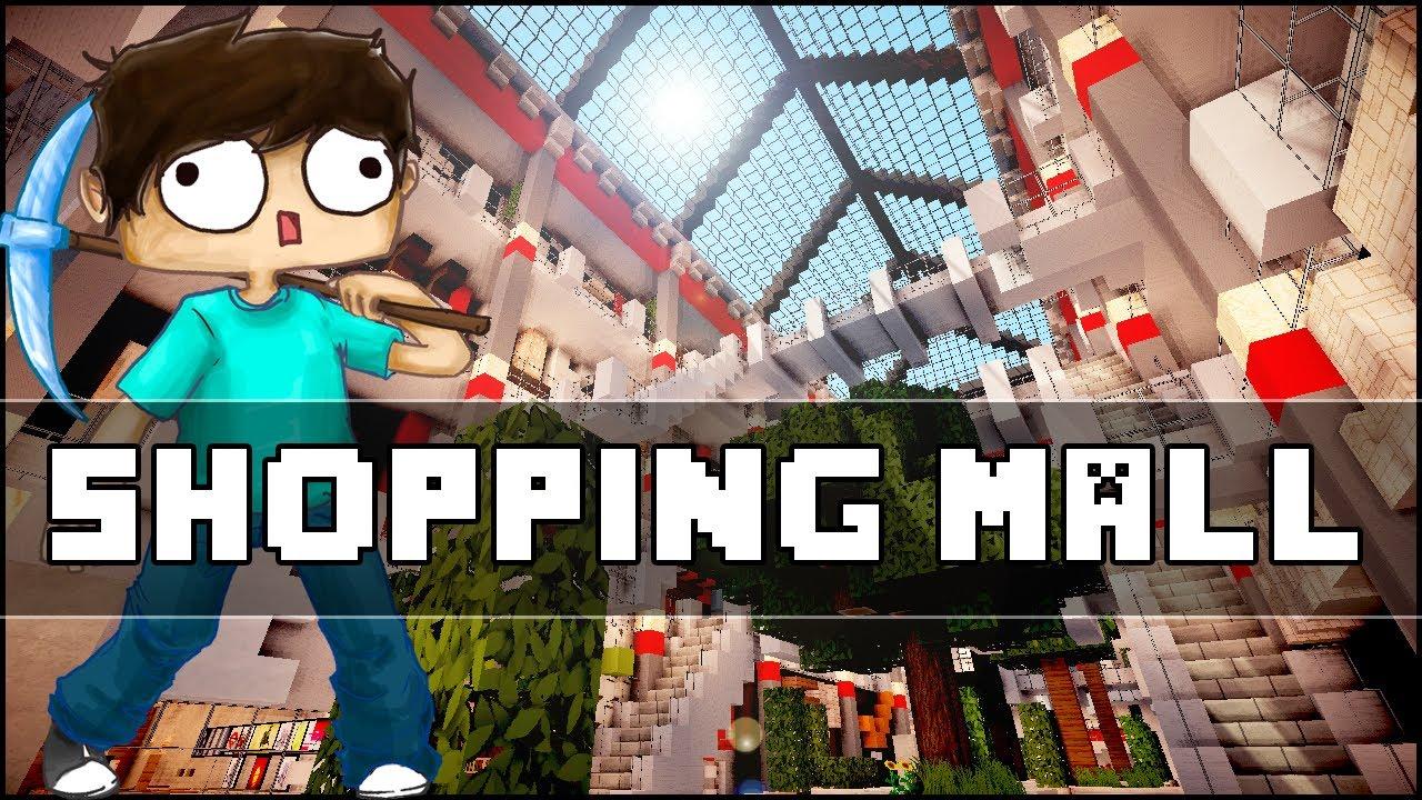 Minecraft modern shopping mall