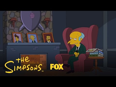 Mr. Burns Endorses Romney | The Simpsons | Animation on Fox