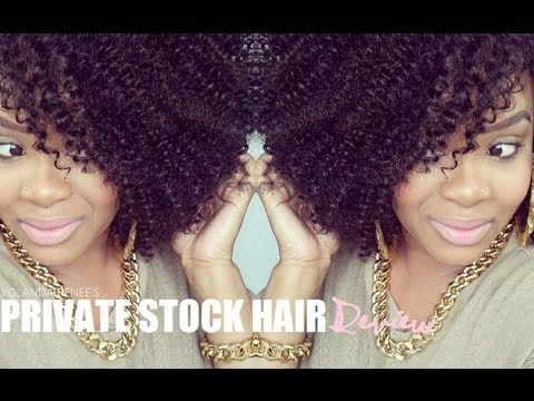 NATURAL HAIR   PRIVATE STOCK HAIR TUTORIAL X REVIEW