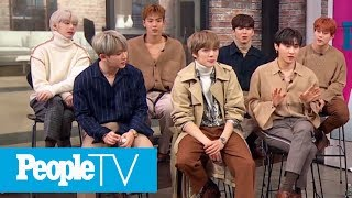 Monsta Meow! Monsta X Member Jooheon Gushes Over His Furry BFFs | PeopleTV